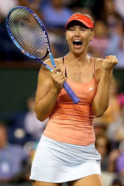 Maria Sharapova Photos: BNP Paribas Open: Day 8