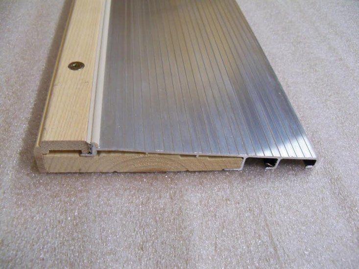 Doors 85892 Exterior Door Threshold Inswing 7 13 16 Wide 36 Mill Silver Pine Base Buy It Now Only Exterior Door Threshold Exterior Doors Door Thresholds
