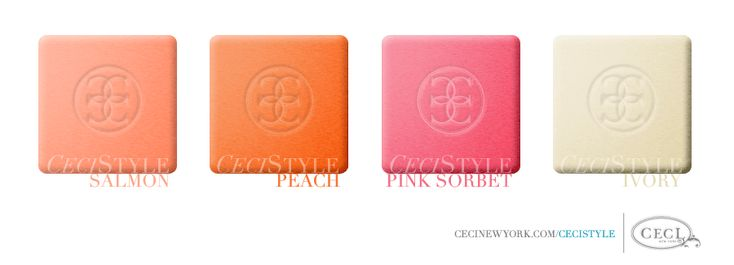 CeciStyle V5: Peach and Cream Wedding Colors