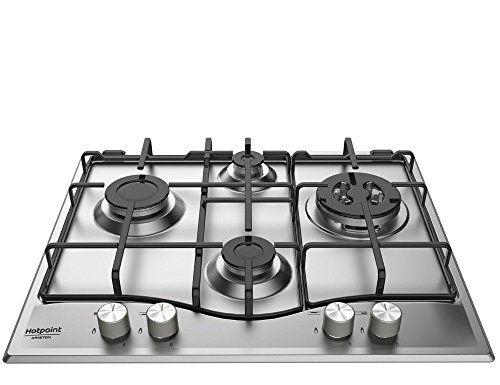 Hotpoint PCN 641T/ix/A Encastrer gaz acier inoxydable plan cuisson: Hotpoint PCN 641 T/IX/HA. type de produit: Intégré Type de plaque: Gaz…