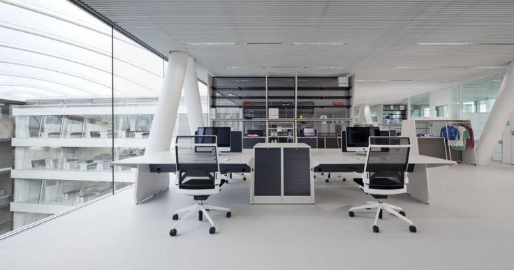 Inspiration Adidas Office Interior Design by KINZO Interior