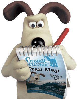 Gromit Unleashed | Trail  Going Gromit-hunting! :)