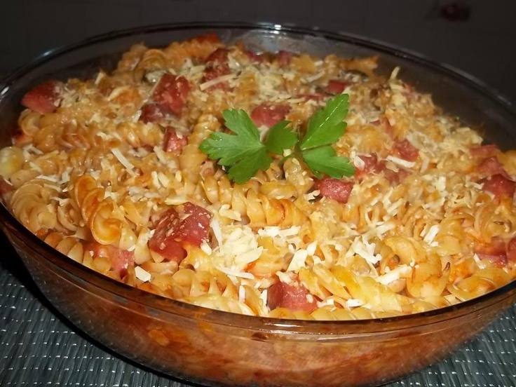 Receita de Macarrão de Forno: Recipes For, Macarrão De, Dog Qu Oven, Brazilian Food, Receitas Culinárias, Noodles, Revenues, Brazilian Food