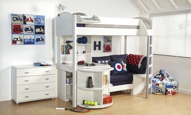 lit-mezzanine-2-places-gagner-de-l`espace-lits-superposes-commode