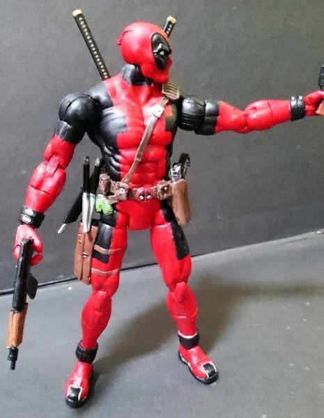 Deadpool (Series 6) (Marvel Legends) Custom Action Figure