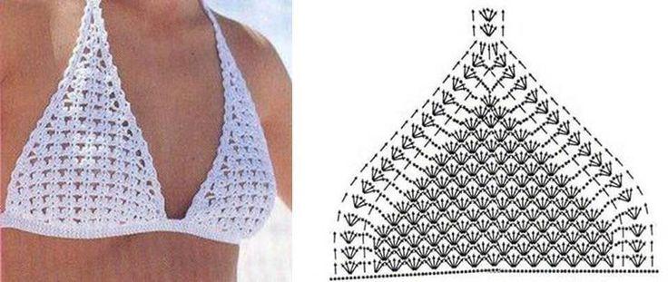 Lenceria De Baño Tejida A Crochet:Más de 1000 imágenes sobre traje de baño en Pinterest