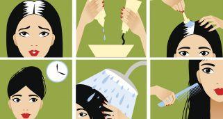 Para mantener el tinte del cabello con canas en buen estado conviene realizar un retoque de raíces periódico. ¡Te enseñamos cómo hacerlo tú misma en casa!