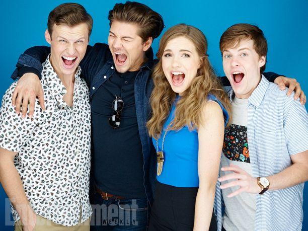 Comic-Con 2015 Star Portraits: Day 3 | Connor Weil, Amadeus Serafini, Willa Fitzgerald, John Karna, 'Scream' | EW.com