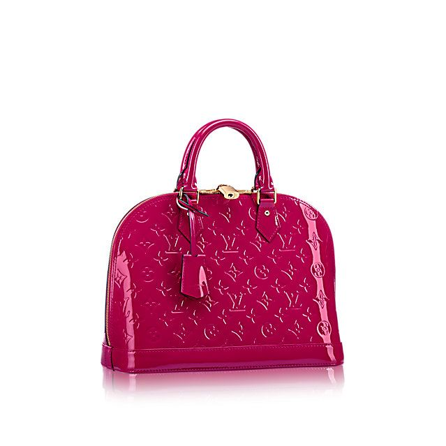 Alma PM - Monogram Vernis Leather - Handbags | LOUIS VUITTON