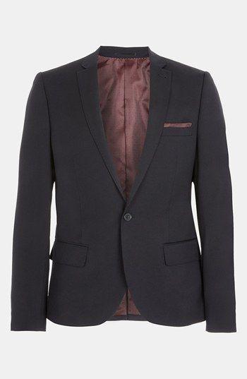 TOP PICK: Topman 'Upspec' Skinny Fit Blazer available at #Nordstrom #TOPMAN  #Tmnordstrom
