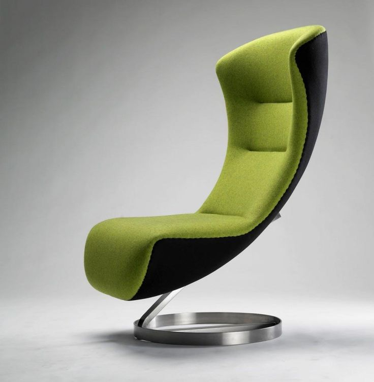Funky Office Furniture Design Ideas Come With Nico Klaber Futuristic Green Waiting Office Chair And Ergonomic Shape. & 20 best chair images on Pinterest | Modern dining chairs Chairs and ...