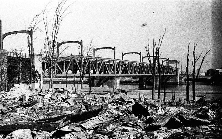 東京大空襲から70年 焼け野原だった場所は今、こうなっている【画像】