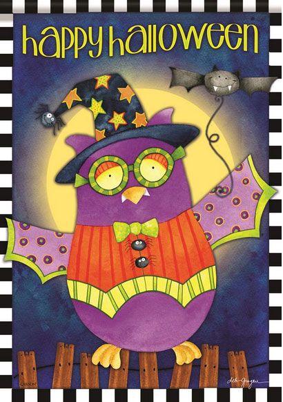Halloween Night Owl