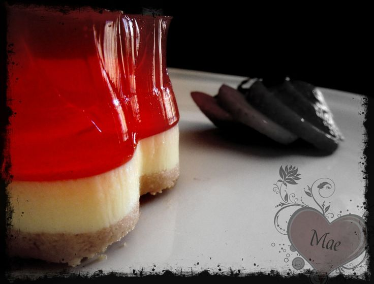 Cozinha com a Ju: Semifrio de queijo e gelatina