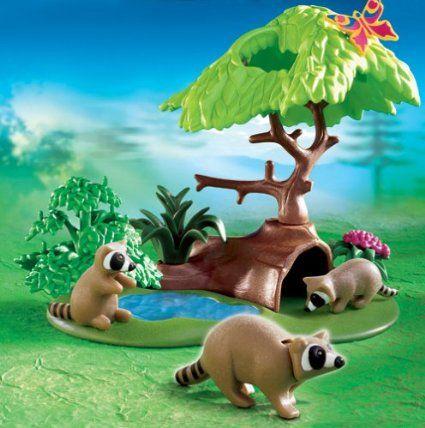PLAYMOBIL® 4205 - Waschbärhöhle: Amazon.de: Spielzeug