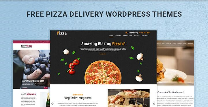 Free Pizza Delivery WordPress Themes for Delivery Websites