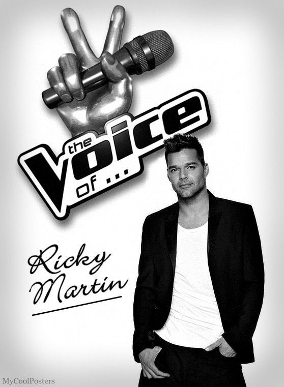 Ricky martin cool posters by steve bates famous celebrities actors and singers