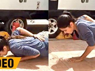 Katrina Kaif Performs One-Arm Push-Up, New Workout Video