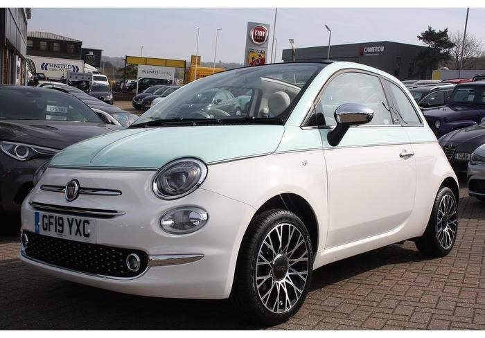 Used Fiat 500c Petrol 2dr 2019 For Sale In Tunbridge Wells Used