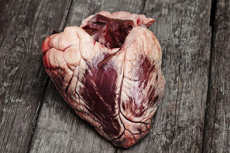 Bio hovězí srdce z Mikrofarmy