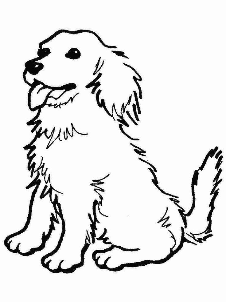 17 best ideas about Ausmalbilder Hunde on Pinterest | Easy drawing ...