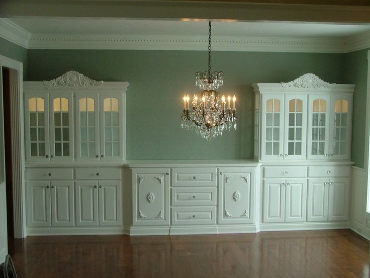 Dining Room Built In Cabinets Gallery