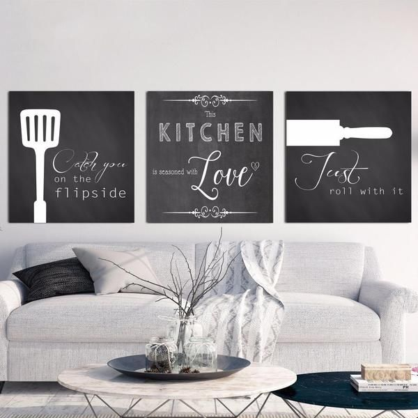 Kitchen Quotes Nichecanvas Kitchen Wall Art Canvas Art Wall Decor Living Room Art