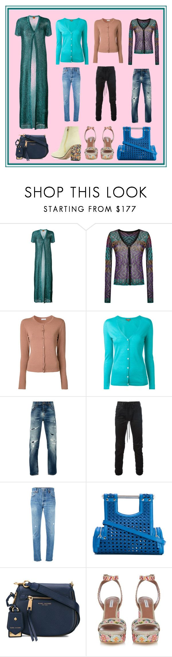 """""""Fashion Nation..."""" by cate-jennifer ❤ liked on Polyvore featuring Missoni, Cecilia Pradomurion, Estnation, N.Peal, Nudie Jeans Co., Off-White, RE/DONE, Corto Moltedo, Marc Jacobs and vintage"""