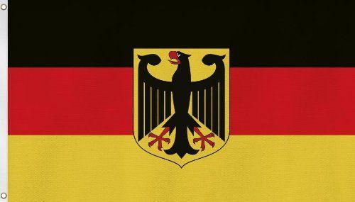 """Tolle Fanartikel zur WM2014, wie """"Fahne 150 x 250 cm Flagge Deutschland mit Adler"""" hier erhältlich: http://fussball-fanartikel.einfach-kaufen.net/flaggen-wimpel/fahne-150-x-250-cm-flagge-deutschland-mit-adler/"""