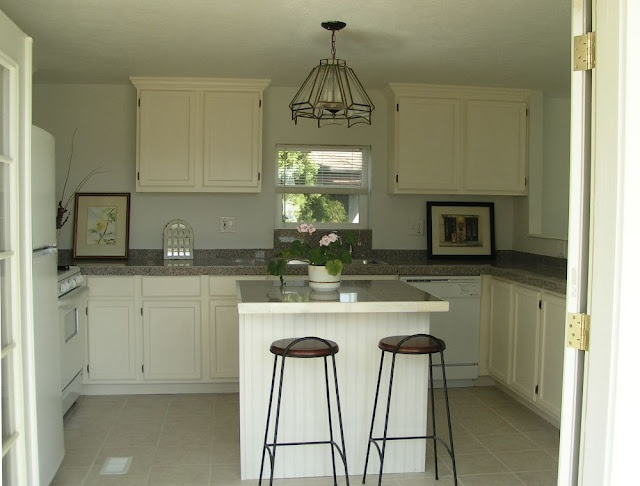 58 best mobile home makeover images on pinterest for Single wide mobile home kitchen ideas