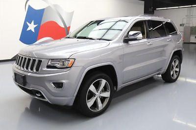 eBay: 2014 Jeep Grand Cherokee Overland Sport Utility 4-Door 2014 JEEP GRAND CHEROKEE OVERLAND 4X4 PANO ROOF NAV 45K… #jeep #jeeplife