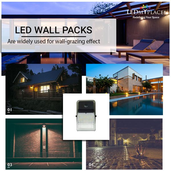 Led Wall Pack Lighting Fixture Is Great For Outdoor Use And Replaces The Conventional Lighting Fixtures Suc Outdoor Security Lights Wall Packs Wall Pack Lights