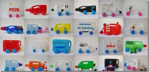 bouteille plastique art - Recherche Google
