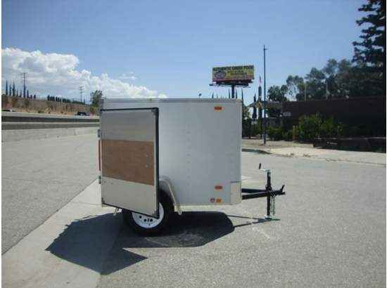 2016 New Other LOOK TRAILERS STLC4X6SI2 COVERED TRAILER FOR SALE Toy Hauler in California CA.Recreational Vehicle, rv, 2015 Other LOOK TRAILERS STLC4X6SI2 COVERED TRAILER FOR SALE, LOOK TRAILERS STLC4X6SI2 SINGLE AXLE CARGO TRAILER FOR SALE Summary Price : $1695.00 Payment options : CASH, CHECK, FINANCING AVAILABLE OAC. CALL NOW SOME FEE'S MAY APPLY MSRP : $2044.00 Discount : $349 Exterior color : WHITE ALUMINUM SKIN Doors : SINGLE REAR CARGO DOOR Year of manufacture : 2015 Condition : NEW…