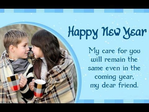 Cute Happy New Year Greetings Messages Wishes Quotes for Friends Kids