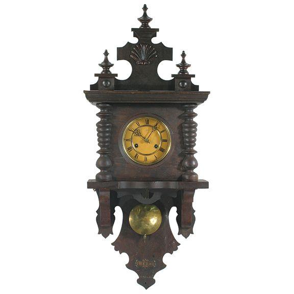 Antique German Open Pendulum Clock Antique S Pinterest