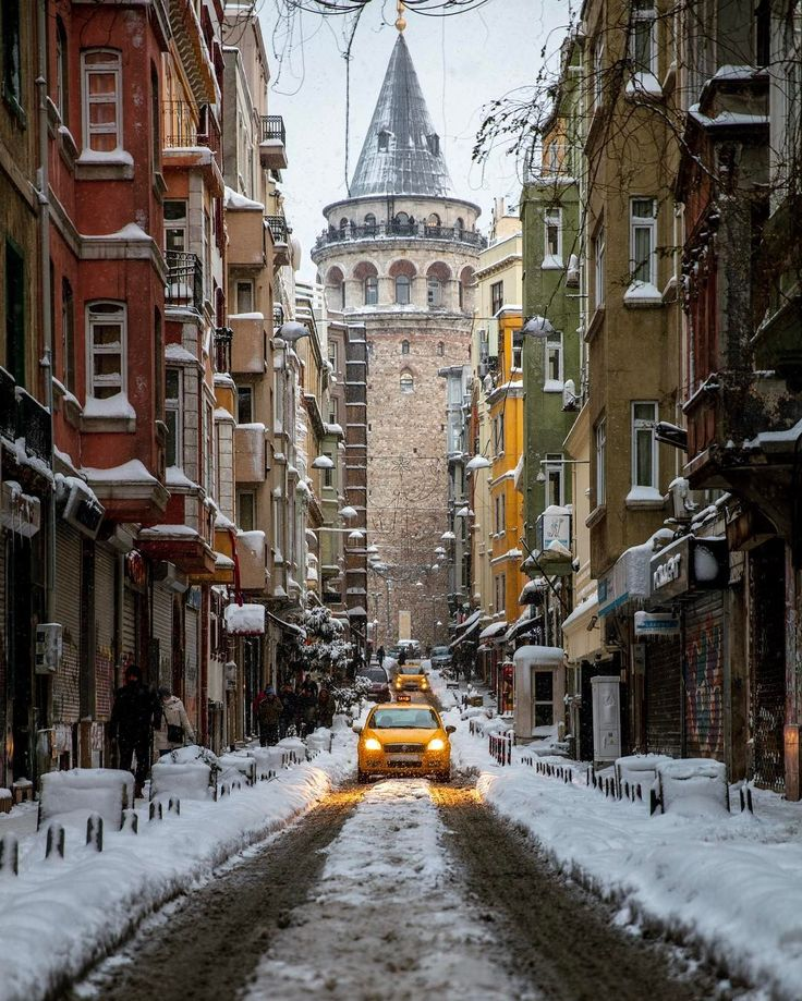 This is Galata Tower #istanbul // photography by Onder Turkmen(onthere)