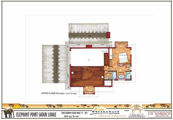 3 bedroom luxury house - loft