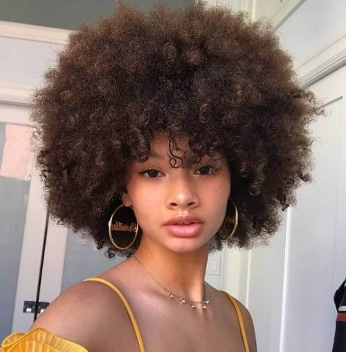 51 Breathtaking Big Afro Hairstyles with How To, P…