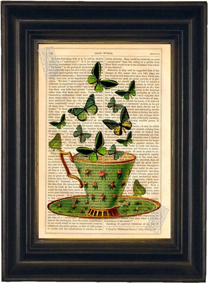 49 best Antique Book Page Prints from JamArtPrints.com images on ...