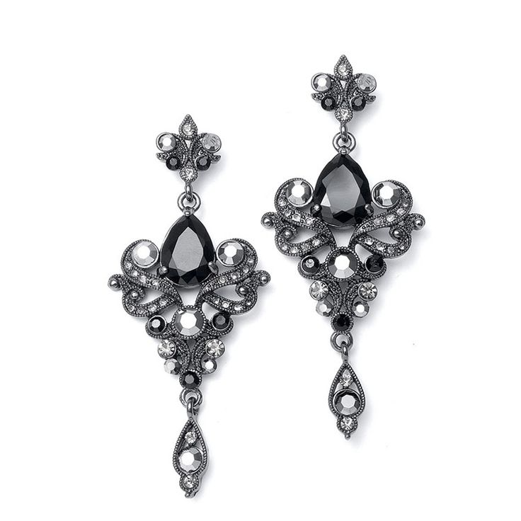 467 best Dazzling Earrings for your Wedding and Prom images on ...