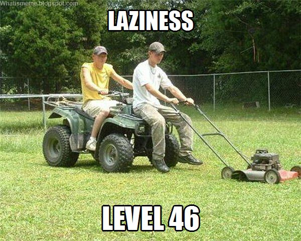 manual lawn mower meme. you might be a redneck if. your idea of riding lawn mower includes brother\u0027 s atv and push m red neck atv manual meme e