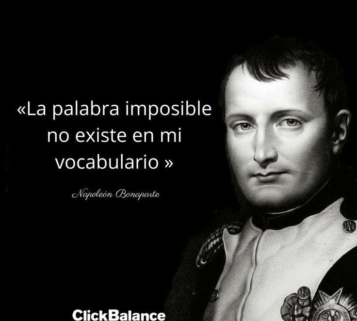 17 Frases de Napoleon Bonaparte, Verdades de un Emperador. - Taringa!
