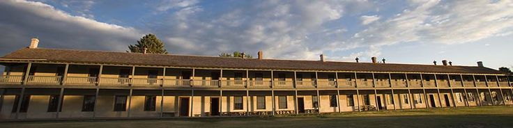 Fort Laramie, WY - Fort Laramie National Historic Site.   Began as a fur trading post in 1834 and went on to serve folks migrating west via the Oregon and California Trails.  Includes a number of restored historic buildings, which you can check out on a walking tour. While there, stop first at the visitor center and enjoy an 18-minute fort history video, the bookstore, and museum exhibits that include uniforms, weapons, and artifacts from Fort Laramie's history.