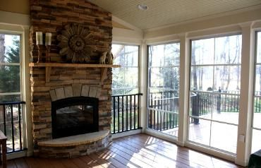 closed in porches with windows | decks additions porches porch enclosures sunrooms screened porches ...