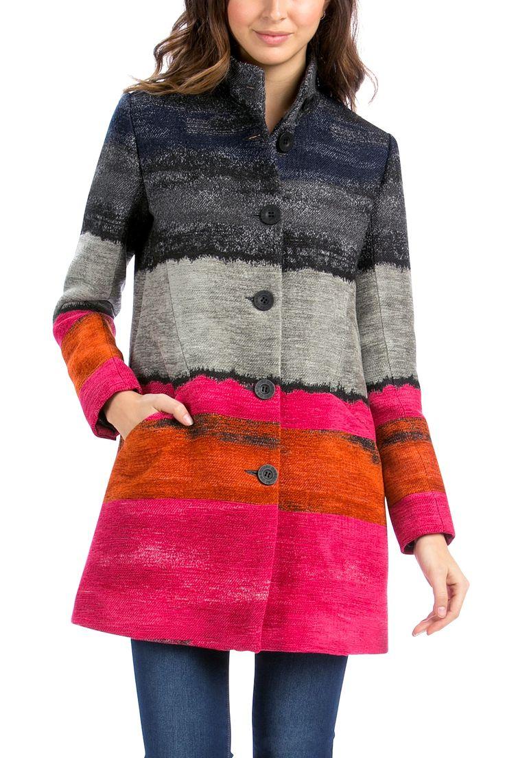 Desigual Tango Coat (one left-size 36)
