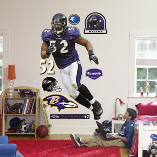 Ray Lewis Baltimore #Ravens Fathead. Click To Order!   $99.99