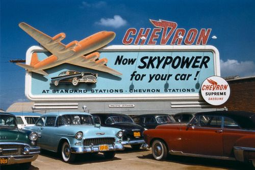 Sadly, I would put this up on the front of my house if it still existed. I just love retro.