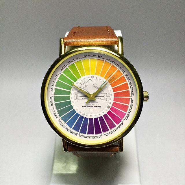 Color Wheel Watch Unisex Watches Fashion Watches Watches For Men