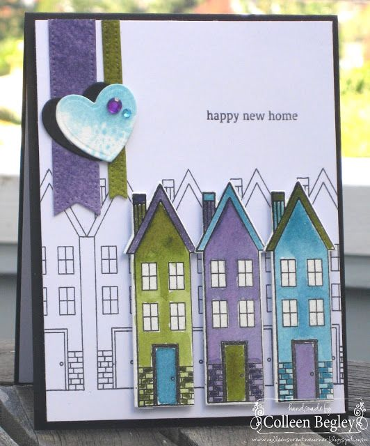 Happy New Home card by Colleen Begley